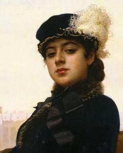 Anna Karenina Portrait